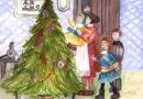 Среди первых участников конкурса новогодних открыток — юные художники из Пензенской области